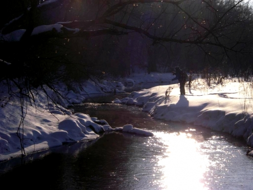 W.F.F. Winter Fly Fishing (Photo: Wendy B.)