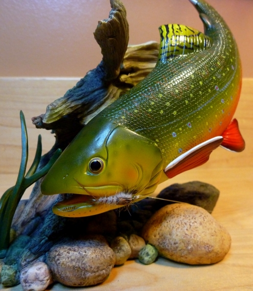 Brook Trout Figure