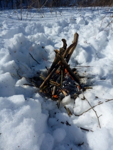 Snow Fire