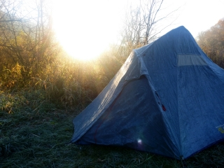 A Frosty Camp