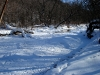 Frozen Driftless Stream