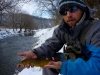 The W.F.F. with a Brown Trout