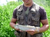 Jake with a Rainbow Trout