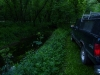 My Truck Next to the Stream