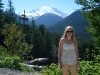 Liz and Mt. Rainer