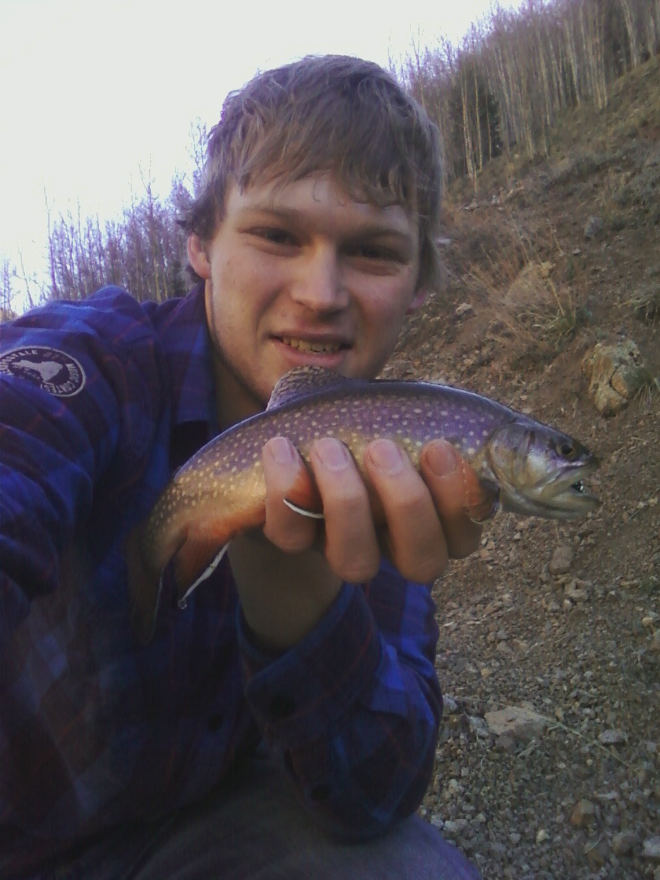 Joel and His Brookie
